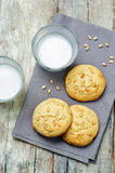 Pine nuts cookies. Italian cuisine Royalty Free Stock Images
