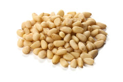Pine nuts Royalty Free Stock Photos