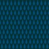 Pine pattern. Illustration isolated on blue background vector illustration