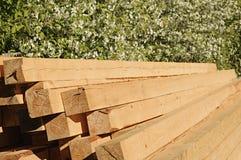 Pine planks Royalty Free Stock Photos