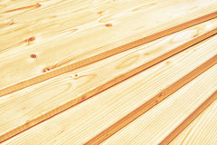 Pine planks stacked Stock Image