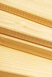 Pine planks stacked Stock Photography