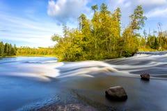Pine Point rapids Stock Photo