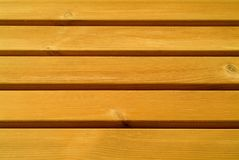 Pine slats Stock Photography