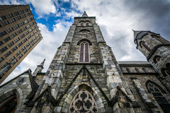 Pine Street Presbyterian Church, in downtown Harrisburg, Pennsyl Stock Images