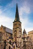 Pine Street Presbyterian Church in downtown Harrisburg, Pennsylv Stock Photos