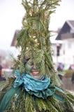 Pine tree fancy dress Stock Photo