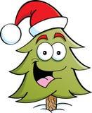 Pine Tree Santa Stock Photo