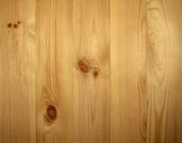 Pine wall paneling Stock Photos