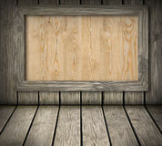 Pine wood board Royalty Free Stock Photography