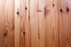 Pine wood boards background Royalty Free Stock Image
