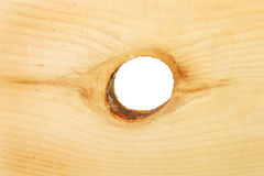 Pine wood and knot Stock Photos