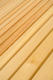 Pine Wood Patio Decking Background Royalty Free Stock Photo