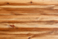 Pine Wood Plank Texture Light Brown With Knots Stock Images