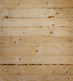 Pine wood plank wall background Stock Images