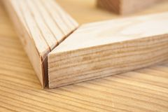 Pine wood planks Stock Photography