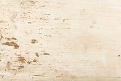 Pine wood table Stock Photo