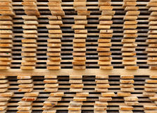 Pine Wooden Planks Stacked Stock Photos