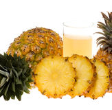 Pineaple juice Royalty Free Stock Photos