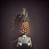 Pineapple先生 免版税库存图片