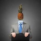 Pineapple先生 免版税库存照片