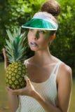 Pineapple小姐 库存图片