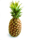 Pineapple. The exotic fruits:  a pineapple Stock Image