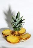 Pineapple. Four pineapple slices Stock Photo