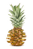 Pineapple. Isolated on white background Stock Photography