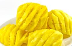 Pineapple. Pineapple juice is decorative fabrics Stock Photography