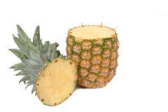 Pineapple 3. Pineapple close-up Stock Photos