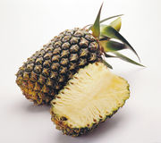 Pineapple. Fruits isolated on white background Stock Photo