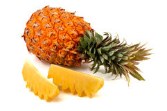Pineapple. A very delicious fresh pineapple Royalty Free Stock Image