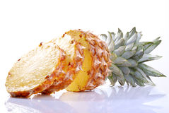 Pineapple. Isolated on white background Stock Images
