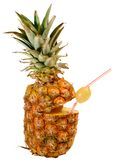 Pineapple as drink Stock Photo