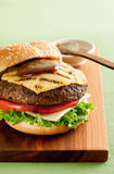 Pineapple Burger Stock Images
