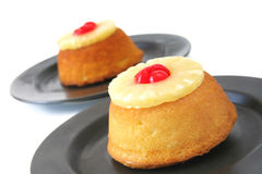Pineapple Cake Stock Photos