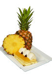 Pineapple cake Royalty Free Stock Images
