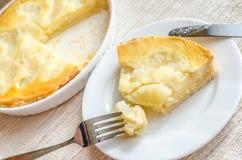 Pineapple cheesecake Royalty Free Stock Photos