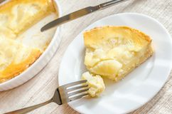 Pineapple cheesecake Royalty Free Stock Images