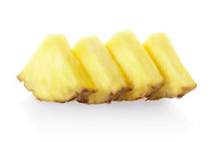 Pineapple chunks Stock Image