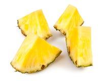 Pineapple chunks stock image. Image of slice, shadow ...