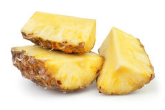 Pineapple chunks big Stock Image