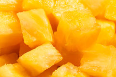 Pineapple chunks Royalty Free Stock Photography