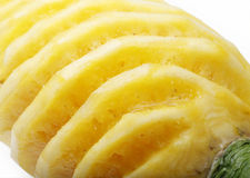 Pineapple close-up Stock Image