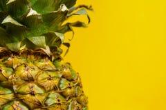 Pineapple, close-up Stock Photos