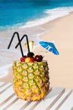 Pineapple Cocktail Stock Photo