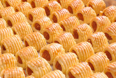 Pineapple cookie Royalty Free Stock Photography