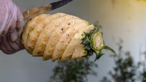 Pineapple coring knife. Royalty Free Stock Image