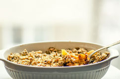 Pineapple crumble Royalty Free Stock Image